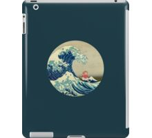 Ponyo and The Great Wave off Kanagawa VINTAGE iPad Case/Skin