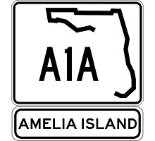 A1A - Amelia Island, Florida - Sun and Fun! Photographic Print