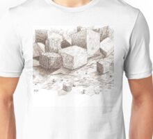 Blocks and Cubes Unisex T-Shirt