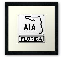 A1A - Florida - Sun and Fun! Framed Print