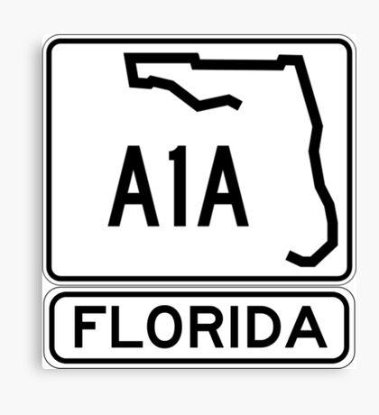 A1A - Florida - Sun and Fun! Canvas Print