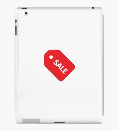 Price tag iPad Case/Skin