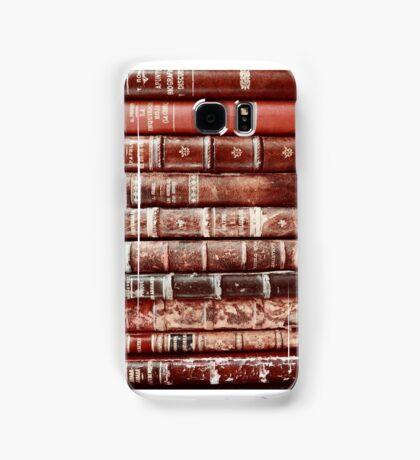 Vintage Books phone case Samsung Galaxy Case/Skin