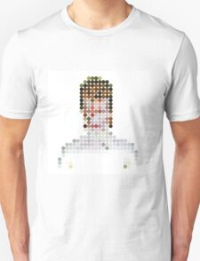 David Bowie Aladdin Sane Dots  T-Shirt
