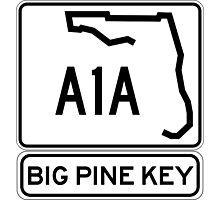 A1A - Big Pine Key Photographic Print