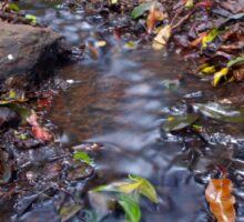 Leaf Stream Sticker