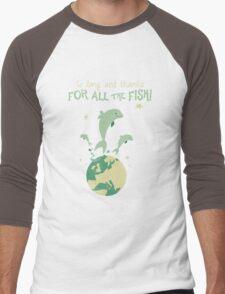 Thanks for the fish! Men's Baseball ¾ T-Shirt