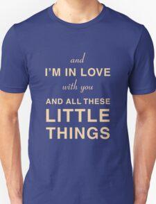 One Direction - Little Things - Lyrics Unisex T-Shirt