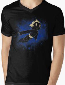 The boy made of machine Mens V-Neck T-Shirt
