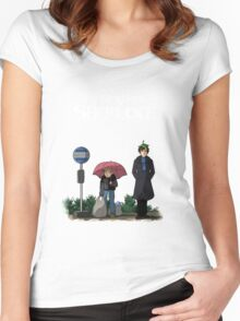 My Neighbor Sherlock Women's Fitted Scoop T-Shirt