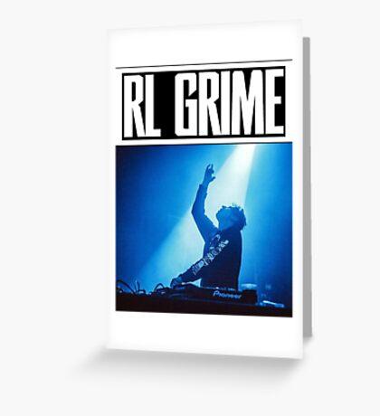 RL Grime Greeting Card