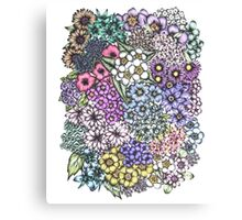 A Bevy of Blossoms Canvas Print