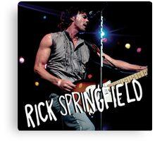 rick springfield Canvas Print