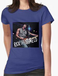 rick springfield Womens Fitted T-Shirt