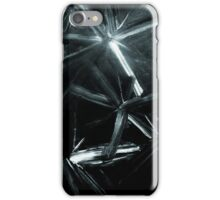 Painted Stars In Black And White Picture iPhone Case/Skin