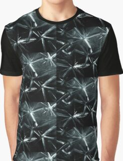 Painted Stars In Black And White Picture Graphic T-Shirt