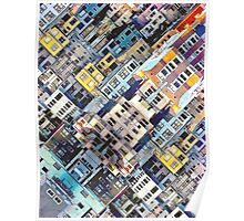 Apartments In The City Poster
