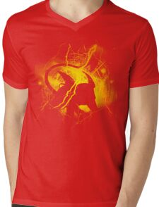 Thunder Rat Mens V-Neck T-Shirt