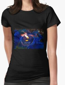 A Candle Loses No Light By Sharing Its Flame V Womens Fitted T-Shirt