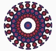Plasma Sphere Pattern One Piece - Short Sleeve