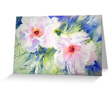 Peony Perfection Greeting Card
