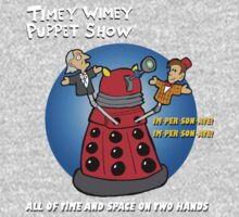 Timey Wimey Puppet Show Baby Tee
