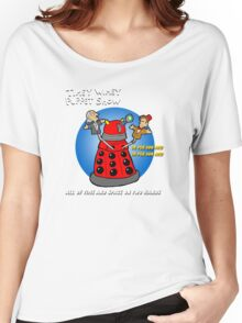 Timey Wimey Puppet Show Women's Relaxed Fit T-Shirt