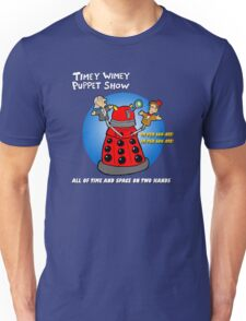 Timey Wimey Puppet Show Unisex T-Shirt