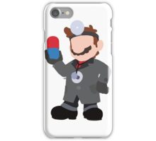 Black Suit Mario iPhone Case/Skin