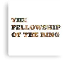 Fellowship of the Ring Metal Print