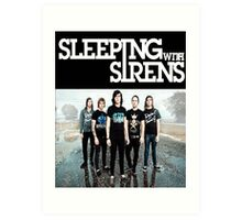 Sleeping With Sirens Tank Finish by md  Art Print
