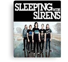Sleeping With Sirens Tank Finish by md  Canvas Print