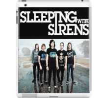 Sleeping With Sirens Tank Finish by md  iPad Case/Skin