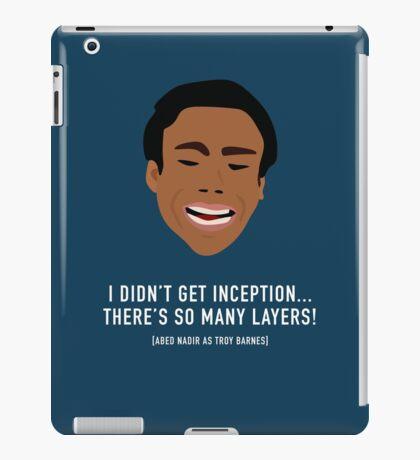 I Didn't Get Inception! iPad Case/Skin