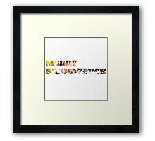 Merry Brandybuck Framed Print