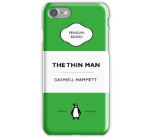 The Thin Man Book Cover tee iPhone Case/Skin