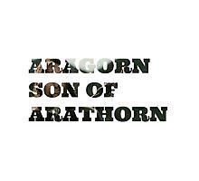Aragorn son of Arathorn Photographic Print