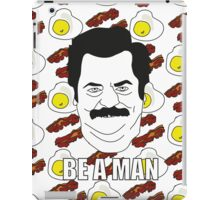 Ron Swanson - Eggs & Bacon iPad Case/Skin