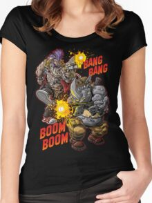 R&B RUMBLE Women's Fitted Scoop T-Shirt