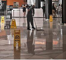 Wet floor by awefaul