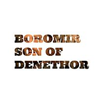Boromir son of Denethor Photographic Print