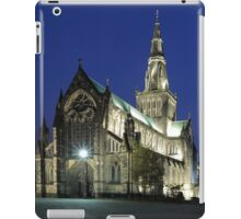 Glasgow Cathedral at Twilight iPad Case/Skin
