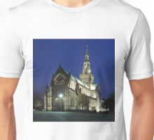Glasgow Cathedral at Twilight Unisex T-Shirt
