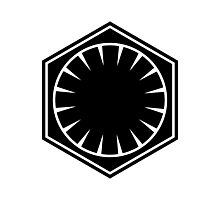 First Order Logo Photographic Print
