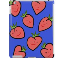 Happy Strawberries iPad Case/Skin