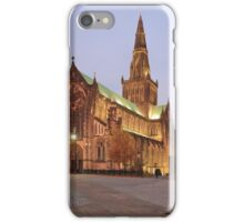 Glasgow Cathedral at Sunset iPhone Case/Skin
