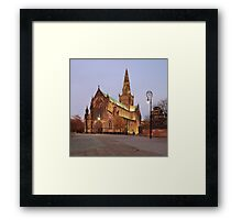 Glasgow Cathedral at Sunset Framed Print