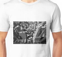 Looking through window Unisex T-Shirt