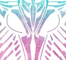Shard Helm [ TURQUIOSE & PINK ] Sticker