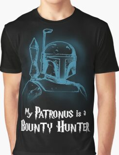 My Patronus is a Bounty Hunter Graphic T-Shirt